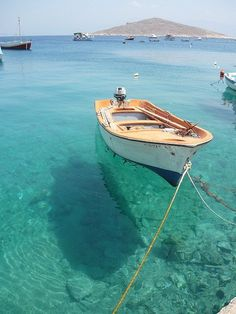 Me and Greece have a destiny. i need memories of Greece! Boat in Chalki, Greece Oh The Places You'll Go, Places To Travel, Places To Visit, Travel Destinations, Dream Vacations, Vacation Spots, Beautiful World, Beautiful Places, Amazing Places