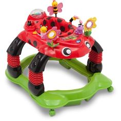 Delta Children Sadie Ladybug Lil Play Station 3 in 1 Activity Walker Safety for sale online Play Station 3, Baby Ladybug, Bring Up A Child, Practical Parenting, Delta Children, Children Play, Designer Baby Clothes, Light Music, Baby Boy Fashion