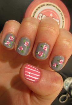 girly love #nails