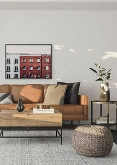 6 ways to create a guest-worthy bachelor pad Mid Century Modern Living Room, Living Room Modern, Living Room Designs, Living Room Decor, Manly Living Room, Masculine Living Rooms, Masculine Apartment, Design Apartment, Small Apartment Decorating