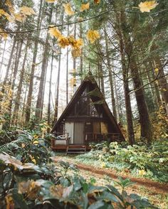 Brown A-Frame - By Forrest Smith
