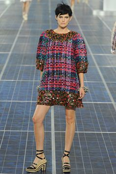 Karl Lagerfeld's vision for Chanel Spring 2013