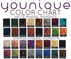 Look at all the Moodstruck Eye Pigments Younique has to offer! To check out or order our amazing Younique products visit, http://www.stunningmascara.com/. For makeup tips and upcoming specials be sure to like my Facebook page, http://www.facebook.com/3dlasheswithchrissynutter. #Younique #Makeup #Lashes #3DFiberLash #Mascara #Glorious #Primer #Facebook #Eyes #Lips #LipGloss