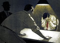 Interrogation by Morgan Schweitzer, via Behance