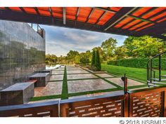 Unbelievable multi-million dollar home on the river with stunning backyard views and modern decor. Multi Million Dollar Homes, Pine Bluff, Ormond Beach, Types Of Houses, Modern Decor, Home And Family, Backyard, Landscape, Luxury