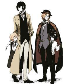 Soukoku & child!soukoku  > × <