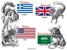 Beowulf, Romania, Dragons, Comic Books, Comics, Reading, Cover, Art, Art Background
