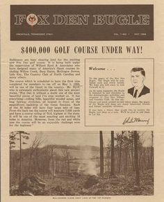History - Fox Den Country Club