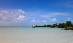 Sarteneja Village Belize, northeastern peninsula of Belize, small town with backpacker style lodging. Close to Mexico. Chill out, leisurely walks along the water filled by cheap seafood dinners (LD, rough guide). Get there by boat from Belize City or by bus.
