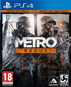 Metro: Redux: #playstation4: #Videojuegos