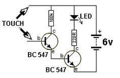 the same time, some of the energy is passed to the inductor so that the LEDs are not damaged. When the transistor is turned off, the energy from the inductor also gives a pulse of energy to Basic Electronic Circuits, Electronic Circuit Projects, Electronic Schematics, Electronic Engineering, Electrical Engineering, Simple Electronics, Electronics Basics, Electronics Components, Electronics Projects