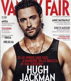 Hugh Jackman - how come I seem to prefer my men dirty, sweaty or stubbley...??