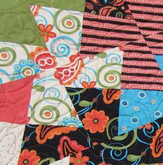 Here's a cute quilt I did for a customer called a Twister Quilt. From the way she described it, it sounds like it was fun to make. Twister Quilts, Cute Quilts, Quilting, Kids Rugs, Pretty, Fun, Decor, Fin Fun, Decoration