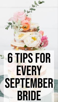 If you're planning on having a Septembre wedding, don't miss these tips, on SHEfinds. We have expert advice on how to plan the best fall wedding. #weddings #weddingideas #weddinginspiration #diy #fallweddings