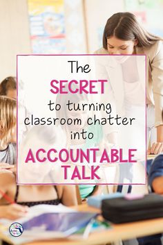 If you are looking for a way to implement accountable talk in your classroom, this post has the secret! You will learn the four steps I used to transform my classroom of chatty kiddos to skillful questioners and how it transformed my teaching and their learning! Using these question stem cards has improved my student's ability to talk about their learning in rigorous and constructive ways in all subject areas. Click here to see how I did it. #accountabletalk #upperelementary #questionstems
