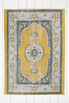 """Teppich """"Salma"""" in Gold, 5 x 7 Fuß"""