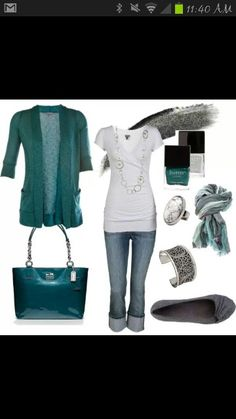 Weekend Outfit Let me rephrase, what I'd like my style to be whenever I get around to updating my wardrobe! Fashion Mode, Look Fashion, Womens Fashion, Fall Fashion, Workwear Fashion, Net Fashion, Diva Fashion, Fashion Trends, Weekend Style