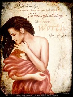 Bella holding Renesmee - The Twilight Saga: Breaking Dawn - Part 2 - Beautiful Fan Art