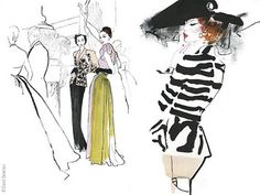 David Downton Masters of Fashion Illustration - 3