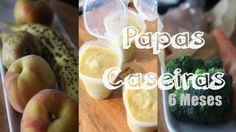 papas-caseiras-para-bebes-6-meses Nutribullet, Pear, Fruit, Food, Youtube, 6 Month Baby, Healthy Recipes, Summary, The Fruit