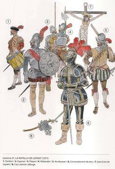 Armadura Medieval, Military Art, Military History, Larp, Battle Of Lepanto, 16th Century Clothing, Types Of Armor, Terra Nova, Early Modern Period