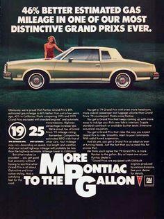 1979 Pontiac Grand Prix ad.
