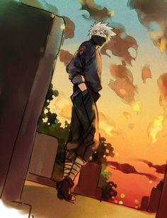 The man known as Kakashi Hatake