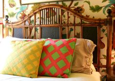 Accent Pillow Perfection | Jason & John's Hyper Saturated Home, Part 1
