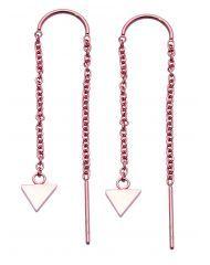 Ørepynt i stål Arrow Necklace, Drop Earrings, Jewelry, Diamond, Jewlery, Jewels, Jewerly, Jewelery, Chandelier Earrings