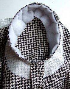 Making a garment using a pattern from BurdaStyle magazine.