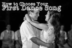 Your first dance song will be one of the most memorable parts of your wedding reception. Here are some tips on how to choose the perfect song! #wedding