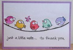Thank you cards Doodle Drawing, Doodle Art, Tarjetas Diy, Envelope Art, Happy Paintings, Bird Cards, Watercolor Cards, Mail Art, Creative Cards