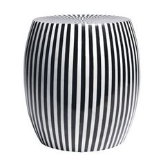 Pictures of B/W Striped Side Table