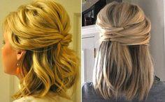 10 penteados lindos e simples para quem tem o cabelo mais curto | Capricho