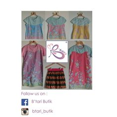 Follow us on : instagram (btari_butik) or Fb (B'tari butik)