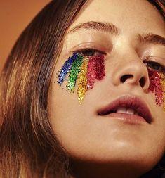 Festival Make Up Makeup Inspo, Makeup Art, Makeup Inspiration, Eye Makeup, Makeup Ideas, Style Inspiration, Airbrush Makeup, Glitter Carnaval, Make Carnaval