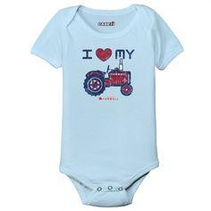 I Love My Tractor Bodysuit :-)