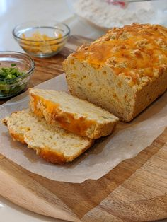 Raise your no-yeast bread game with a little help from us and a whole lotta cheddar. Tasty Bread Recipe, Bread Recipes, Baking Recipes, Dessert Recipes, Sandwich Recipes, Soup Recipes, Cookie Recipes, Recipies, Bread Bun