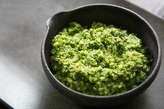 Walnut Parsley Pesto Recipe | SimplyRecipes.com