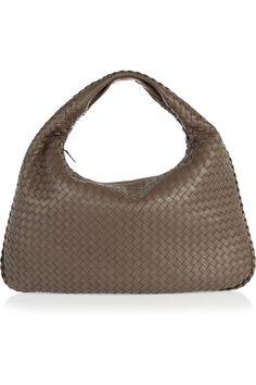 Bottega Veneta Veneta Large intrecciato leather shoulder bag