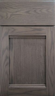 grey stained oak cabinets