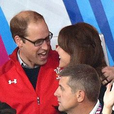 Kate and Will at the RugbyWorldCup ENG v WAL match tonight RWC2015 ❤️❤️