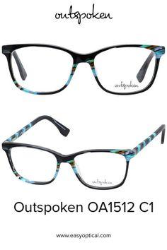 OUTSPOKEN OA1512 C1 Eyewear, Glasses, Easy, Eyeglasses, Eyeglasses, Sunglasses, Eye Glasses