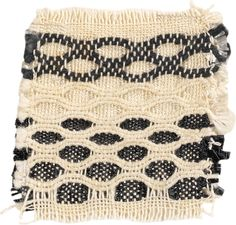Cotton and Gimpe, plain weave, honeycomb The Josef Anni Albers Foundation Weaving Textiles, Tapestry Weaving, Loom Weaving, Hand Weaving, Bauhaus Textiles, Anni Albers, Crochet Wool, Weaving Projects, Fabric Manipulation