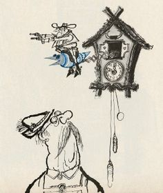 """Searle illustration for a 1965 Telegraph magazine article""""The Americanisation of Europe"""". Character Illustration, Book Illustration, Illustration Styles, Ronald Searle, Art Corner, Guy Drawing, Caricature, Graphic Art, Character Design"""