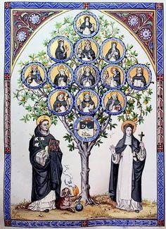 Order of Preachers Catholic Art, Catholic Saints, Religious Images, Religious Art, Holy Rosary Church, Dominican Order, Saint Dominic, Sacred Art, Antique Art