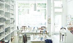 Porzellanfraeulein Workshop, Vanity, Ceramics, Mirror, Diy, Furniture, Home Decor, Store Interiors, Simple