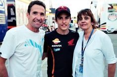 marc with his beloved parents♥♥♥