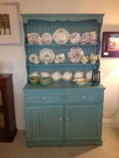Upcycled Dresser in Annie Sloan Provence paint