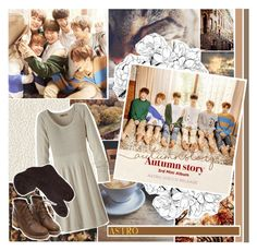 """""""Autumn Story - Astro 아스트로"""" by highlyfunctioningsociopath ❤ liked on Polyvore featuring prAna"""